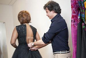Gayle King and Adam Glassman at Oscar de la Renta
