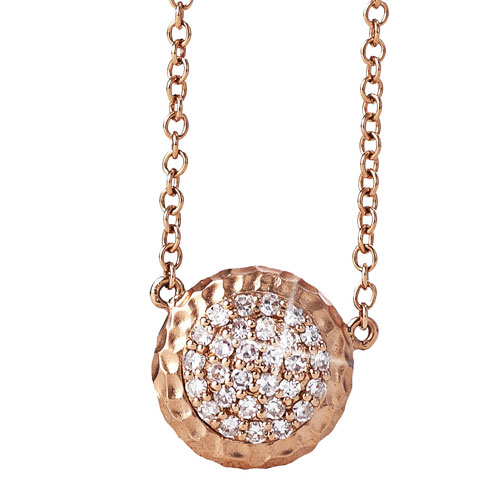 Delicate Affair Diamond Necklace in Rose Gold