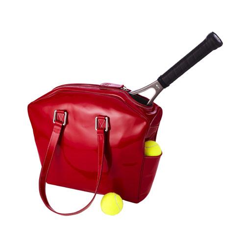 Belvedere Rosso tennis bag