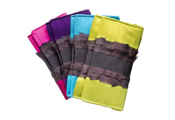 silk clutches