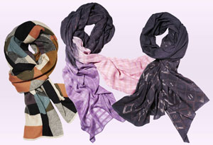 A Peace Treaty scarves