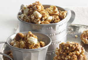 Honey Caramel Corn Balls