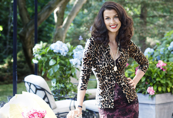 Bridget Moynahan - animal print