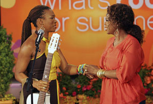 oprah with india arie