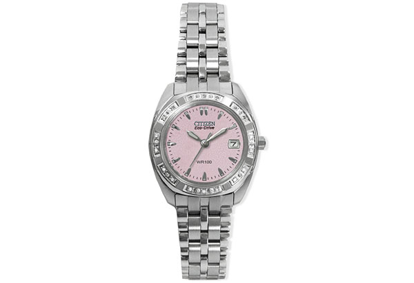 Citizen Eco-Drive pink watch