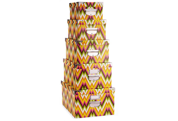Macbeth Collection stacking boxes