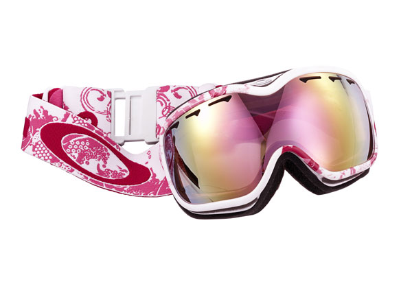 Oakley pink goggles