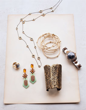 selection of jewelry