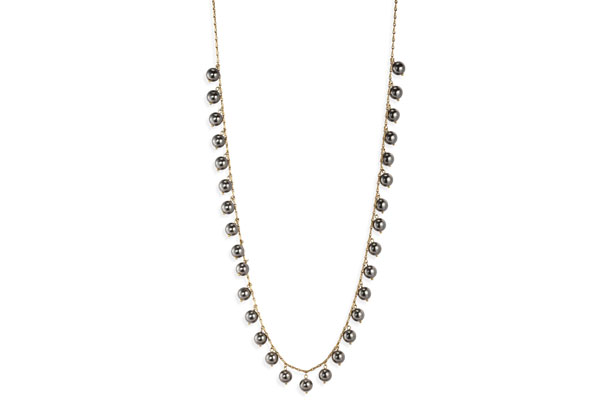 extra-long pearl necklace