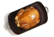 Turkey in a pan