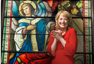 Susan Sparks in Church