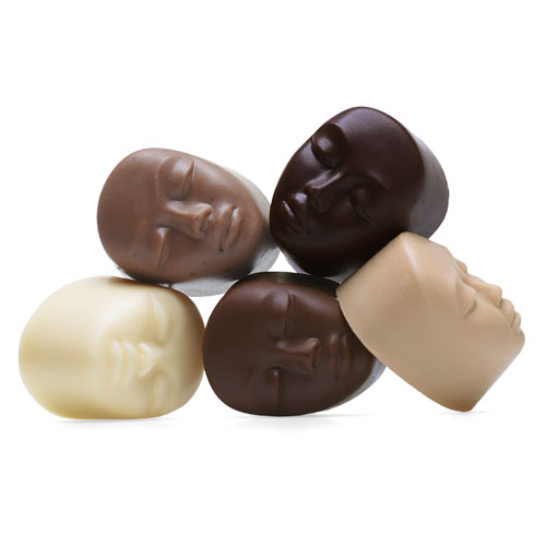 Chocolate Faces of the World