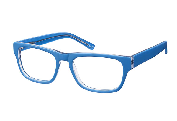 blue eyeglasses
