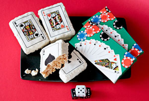 party poker casino grade playing cards