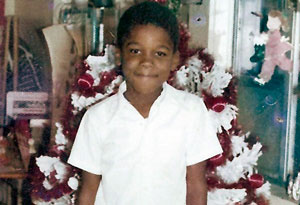 Tyler Perry as a child