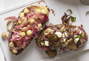 Vegetarian Bruschetta Platter