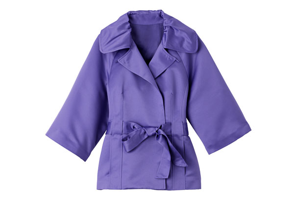 three-quarter sleeve jacket