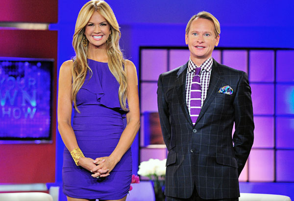 Carson Kressley and Nancy O'Dell