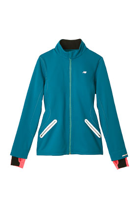 blue thermal jacket