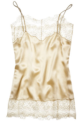 pale gold camisole