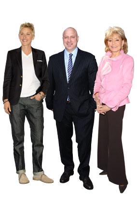 Ellen DeGeneres, Tom Colicchio, Barbara Walters