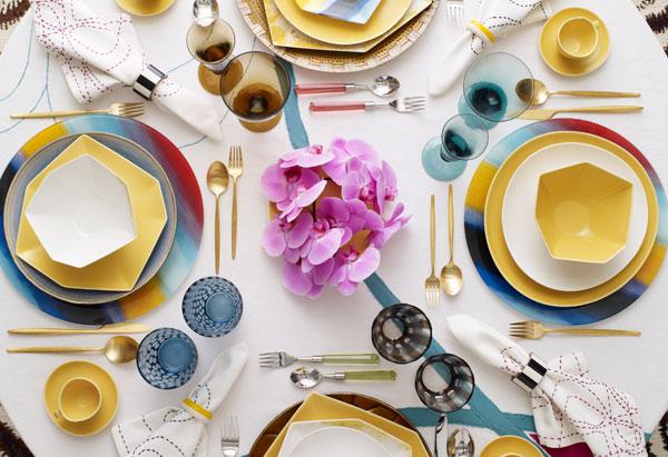Diane von Furstenberg tableware
