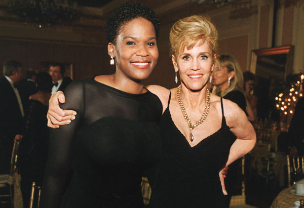 Mary Williams and Jane Fonda