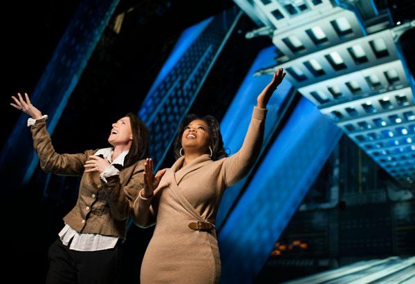 Oprah and Julie Taymor