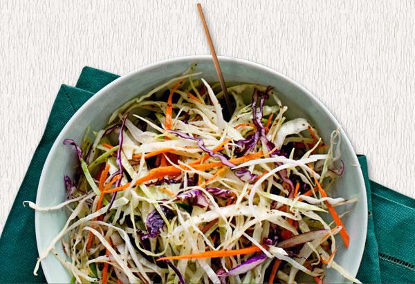 Tricolor Coleslaw Recipe