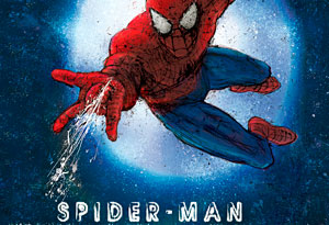 poster art for spider-man the musical