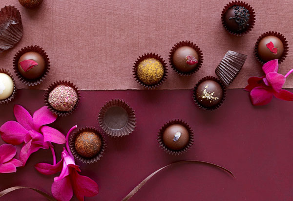 Vosges Coquette Collection chocolates