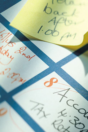 doctor appointment calendar