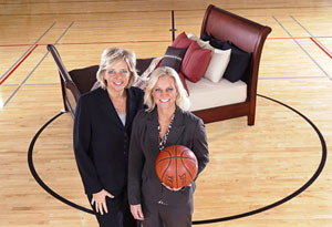 Susan Walvius and Michelle Marciniak, Sheex founders