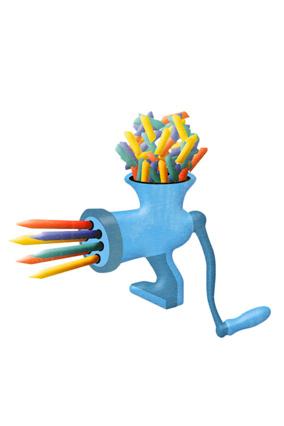 Pencil sharpener illustration