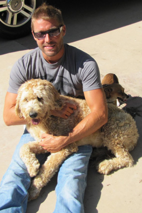 Farrah with Zach Skow