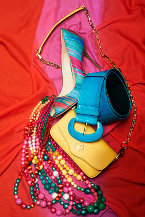 Colorful accessories