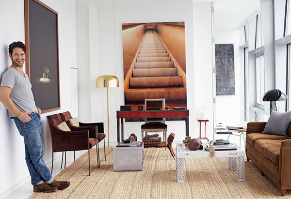 Nate Berkus Photographed In His New York City Apartment