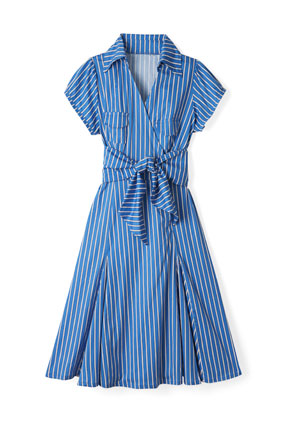 Shabby Apple striped shirtdress