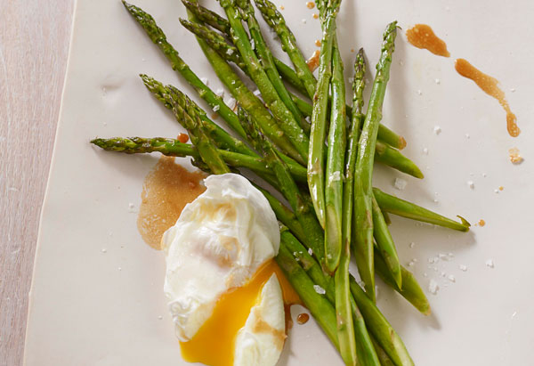 Asparagus with Butter and Soy Sauce