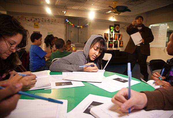 Students at DreamYard