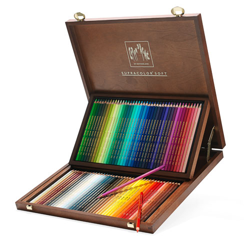 Caran d'Ache of Switzerland Supracolor Pencils
