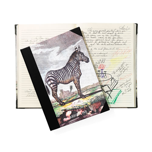 Buffon Zebra Notebook