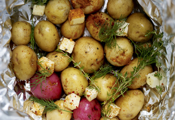 New Potatoes with Old Bay and Dill Recipe