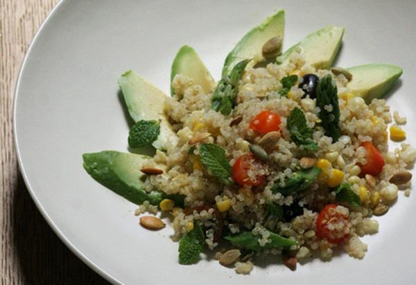 Quinoa and Summer Veggie Salad Recipe