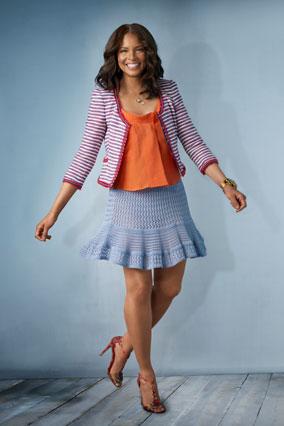Traci Wolfe - miniskirt