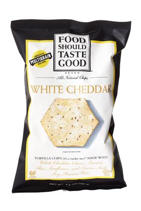 Food Should Taste Good White Cheddar