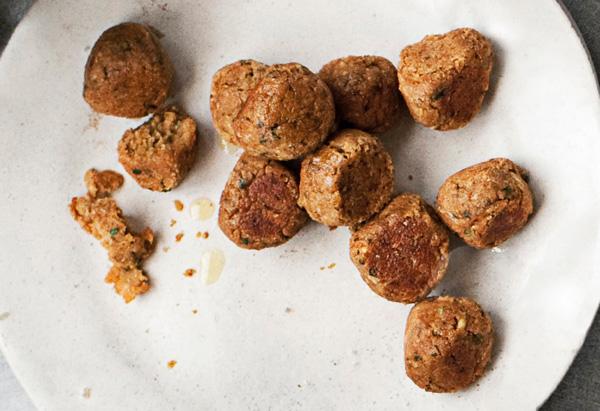 Baked Falafel Balls