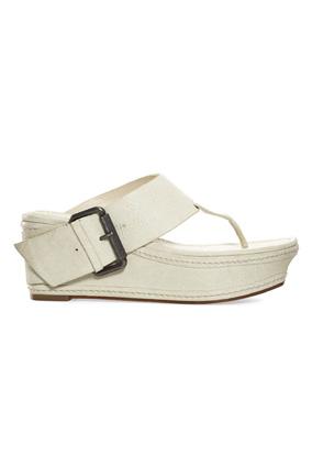 Vera Wang Lavender thong sandals