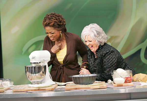 Oprah and Paula Deen