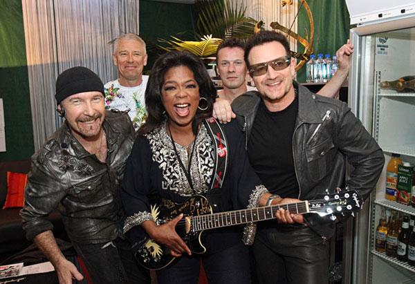 Oprah and U2